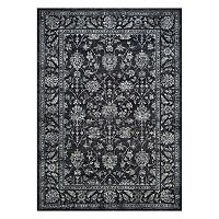 Couristan Sultan Treasures All-Over Mashhad Framed Floral Rug