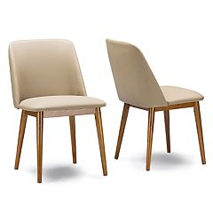 Baxton Studio Lavin Mid-Century Dining Chair 2 pc Set