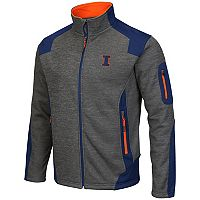 Men's Campus Heritage Illinois Fighting Illini Double Coverage Jacket