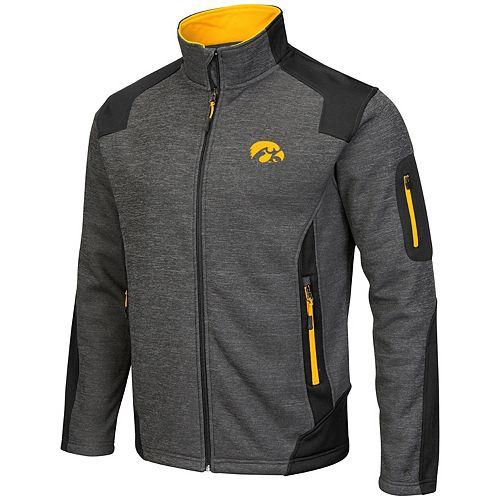 Men's Campus Heritage Iowa Hawkeyes Double Coverage Jacket