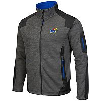 Men's Campus Heritage Kansas Jayhawks Double Coverage Jacket