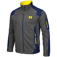 Men's Campus Heritage Michigan Wolverines Double Coverage Jacket