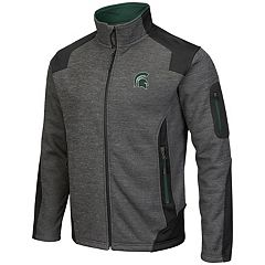 Men's Campus Heritage Michigan State Spartans Double Coverage Jacket