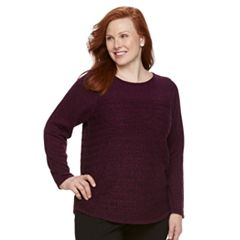 Plus Size Croft & Barrow® Marled Sweater