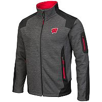 Men's Campus Heritage Wisconsin Badgers Double Coverage Jacket