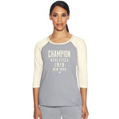 Women's Champion Graphic Raglan Tee