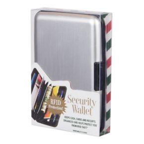 Wembley RFID-Blocking Hard-Shell Security Wallet