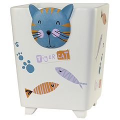Creative Bath Kitty Wastebasket