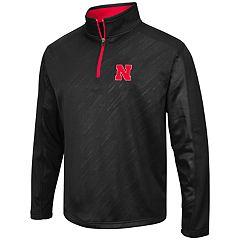 Men's Campus Heritage Nebraska Cornhuskers Sleet Pullover