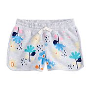 Girls 4-10 Jumping Beans® Printed French Terry Dolphin Shorts
