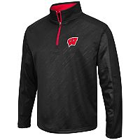 Men's Campus Heritage Wisconsin Badgers Sleet Pullover