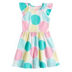 Girls 4-10 Jumping Beans® Flutter Sleeve Skater Dress