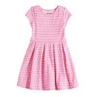 Girls 4-10 Jumping Beans® Pleated Skater Dress