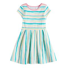 Girls 4-10 Jumping Beans® Pleated Skater Dress