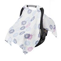 aden by aden + anais Muslin Medallion Car Seat Canopy Cover