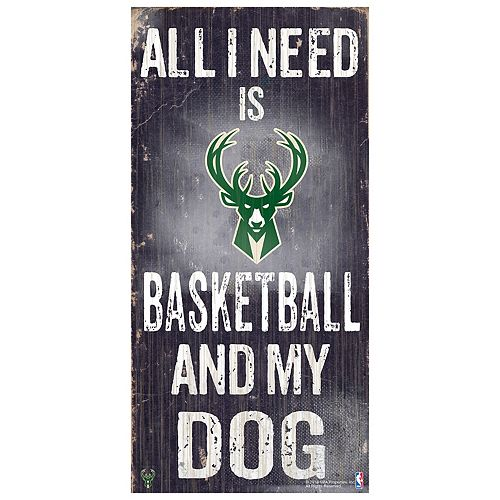 Milwaukee Bucks All I Need Wall Art