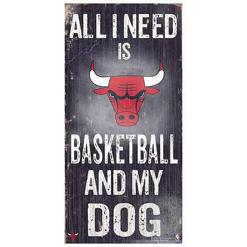Chicago Bulls All I Need Wall Art