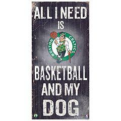 Boston Celtics All I Need Wall Art