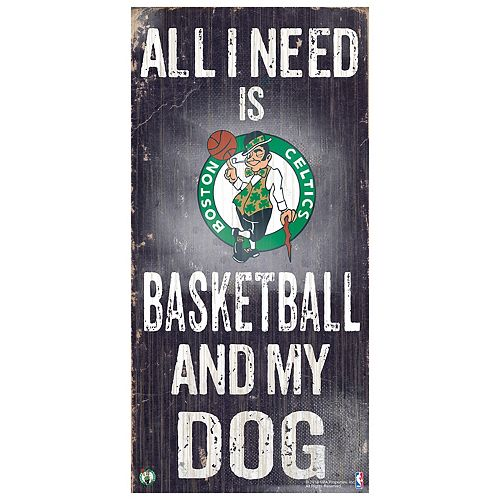 Boston Celtics All I Need Wall Art