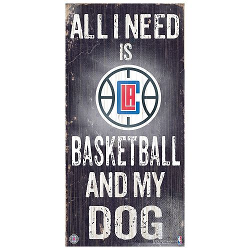 Los Angeles Clippers All I Need Wall Art