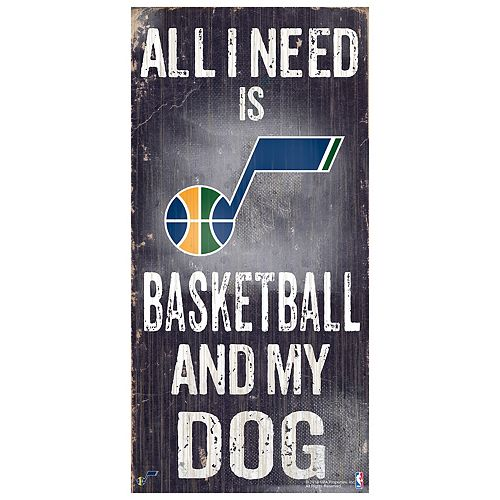 Utah Jazz All I Need Wall Art