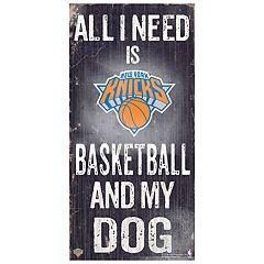 New York Knicks All I Need Wall Art