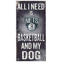Brooklyn Nets All I Need Wall Art