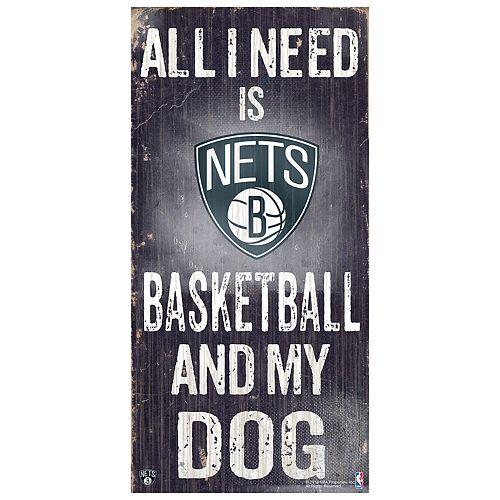 Brooklyn Nets All I Need Wall Art