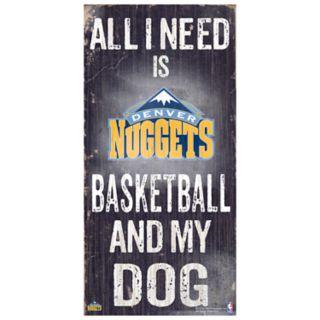 Denver Nuggets All I Need Wall Art