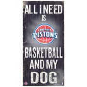 Detroit Pistons All I Need Wall Art