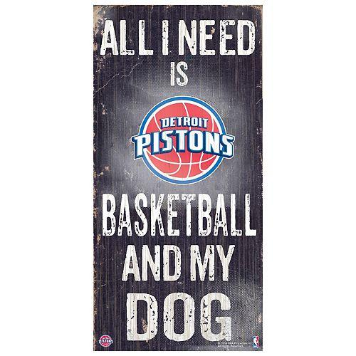 Detroit Pistons All I Need Wall Art