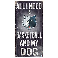 Minnesota Timberwolves All I Need Wall Art