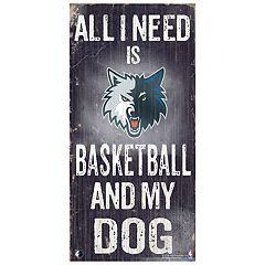Minnesota Timberwolves All I Need Wall Art