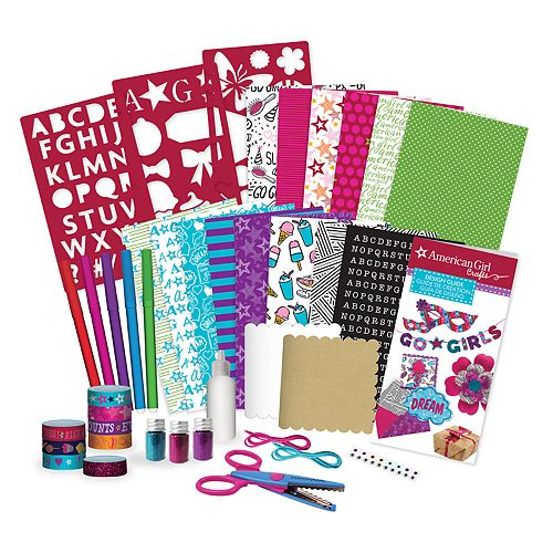 American Girl All About Paper Crafting Kit by Fashion Angels