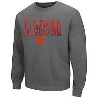 Men's Campus Heritage Clemson Tigers Wordmark Sweatshirt