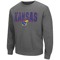 Men's Campus Heritage Kansas Jayhawks Wordmark Sweatshirt