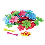 Wellie Wisher Girl & Doll Floral Headband Kit by Fashion Angels
