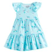 Toddler Girl Jumping Beans® Printed Tiered Dress