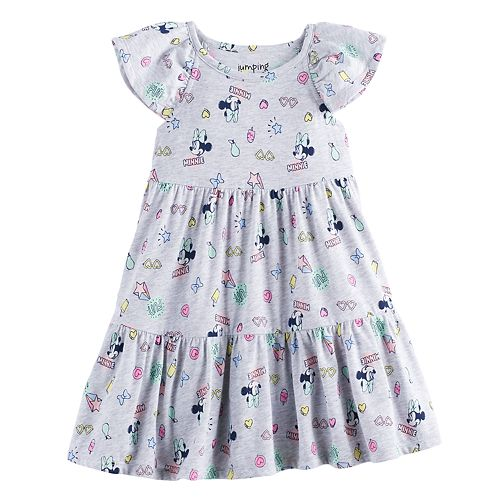 Disney's Minnie Mouse Toddler Girl Tiered Dress by Jumping Beans®