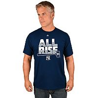 Men's Majestic New York Yankees Aaron Judge All Rise Tee