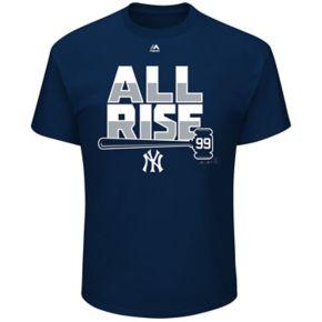 Men's Majestic New York Yankees Aaron Judge All Rise Tee