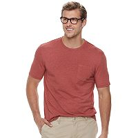 Big & Tall SONOMA Goods for Life™ Supersoft Stretch Pocket Crewneck Tee