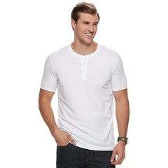 Big & Tall SONOMA Goods for Life™ Supersoft Stretch Henley
