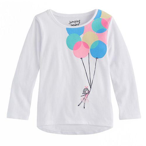 Toddler Girl Jumping Beans® Balloon Graphic Tee