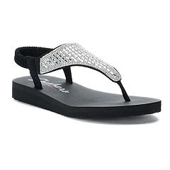 Women's Skechers Meditation Rock Crown Sandals