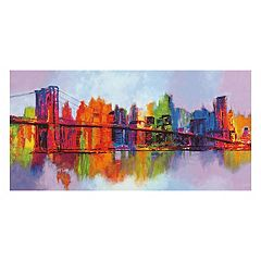 Art.com Abstract Manhattan Wall Art Print