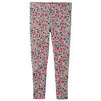 Baby Girl Carter's Print Full-Length Leggings