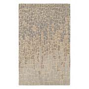 Couristan Super Indo-Natural Rosalyne Geometric Wool Rug