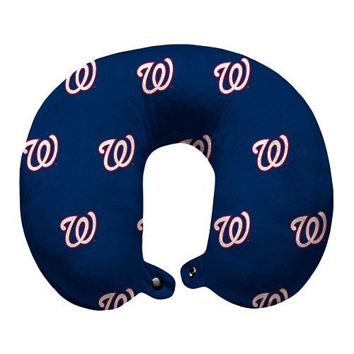 Washington Nationals Travel Pillow