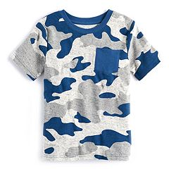 Boys 4-10 Jumping Beans® Camouflaged Pocket Tee